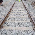 Trabajos de sustitución de via en Izurdiaga terminados