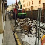 Demolición de pavimento con giratoria