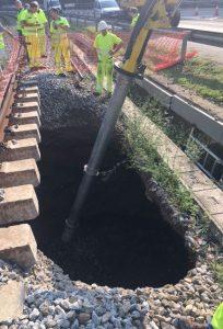 Extracción de aguas y lodos